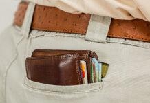 portfel z ochroną RFID